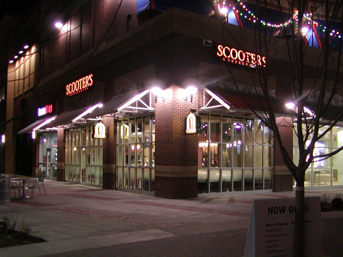 Scooter's Coffeehouse Architectural Design in North Kansas City, MO